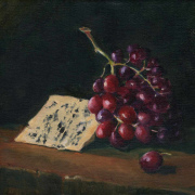 grapes-cheese