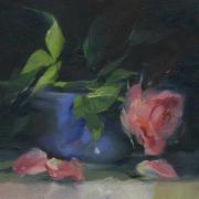 pink-rose-blue-bowl