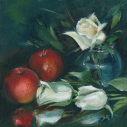 roses-and-red-apples
