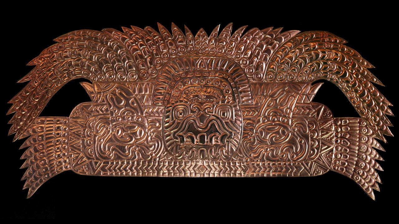 Aztec-Headdress
