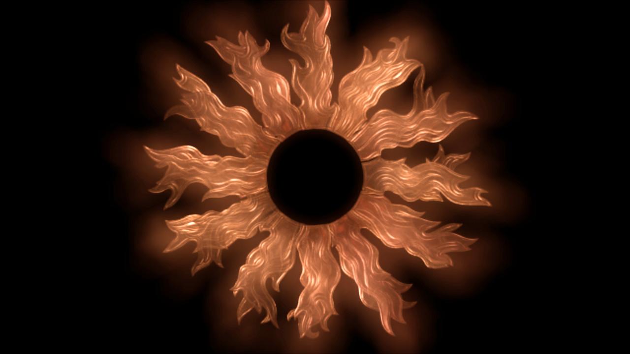 Flaming-Sun