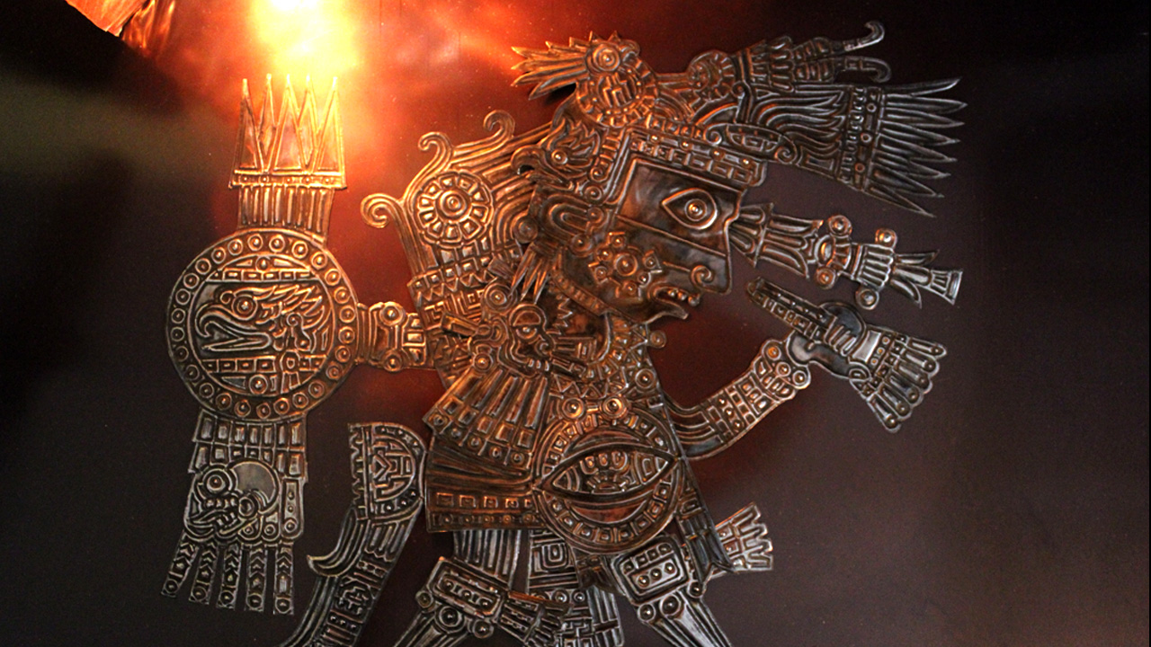 Mixtec-Warrior